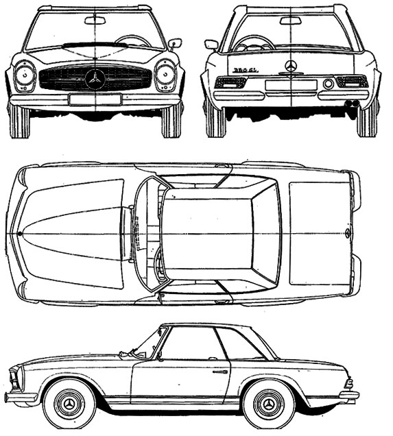 Mercedes 230 Sl Wiring Diagram