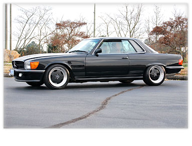 Bud's Benz : Portfolio : 107 Chassis Cars : 600SLC AMG Conversion