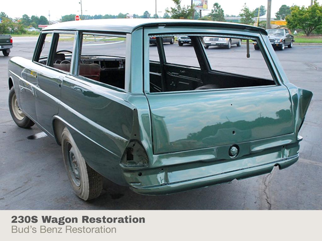 Bud's Benz : Restoration Services